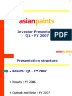 Analyst Presentation - June 2006