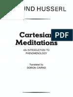 Husserl Cartesian Meditations Pdf