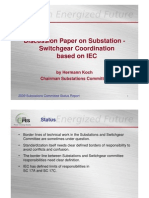 Discussion Paper IEC IEEE Switch Gear