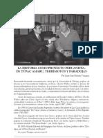 La Historia como proyecto peruanista. Entrevista a Charles Walker