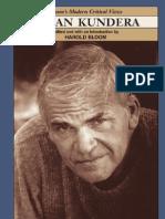 Harold BLOOM Critical Editions - Milan Kundera