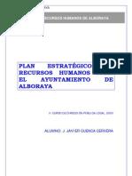 Plan de RRHH de Alboraya