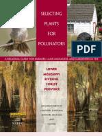 Selecting Plants for Pollinators