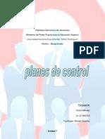 Planes de Control Unidad 7