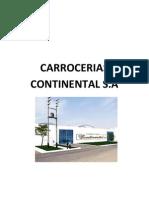 CARROCERIAS Continental (Costeo Para La Toma de Decisiones