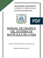 ManualMatriculaOnline