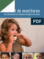 Manual de monitoreo de la promoción de alimentos dirigida a los niños
