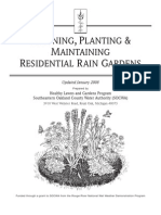 Michigan; Planning and Maintaing Residential Rain Gardens - Oakland County