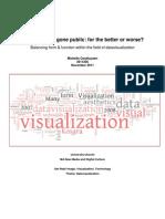 Visual thinking gone public