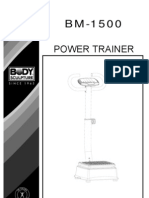 BM1500 Power Trainer Manual