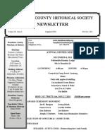 Nov - Dec 2011 Newsletter