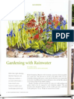 New Hampshire; Gardening with Rainwater