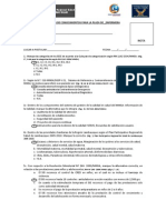 EXÁMEN DE CONOCIMIENTOS CONCURSO COGESTION ENFERMERIA  agosto 2009