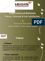 Values Attitude and Job Satisfaction 2