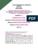Capitulo 6 Diseños experimentales De investigación