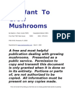 I Want To Grow Mushrooms