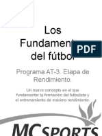 los fundamentos del futbol