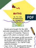 26 May Maths II
