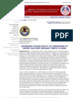 Case No. 08-20612-CR-Seitz/O' Sullivan,,Doj Press Release