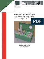 Banco de Pruebas Para Valvulas de Seguridad