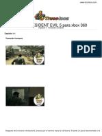 Guia Trucoteca Resident Evil 5 Xbox 360