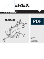 Terex Genie AL4000 Parts Manual