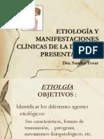 Etiologia y Manifestaciones Clinicas Part 2