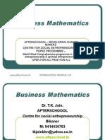 12 August Business Mathematics