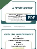 12 August English Improvement