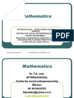 12 August Mathematics