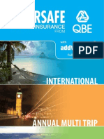 Travel Insurance Forms & PDS