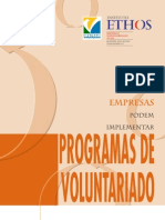 Goldberg, Ruth - Como as empresas podem implantar Programas de Voluntariado - 2001