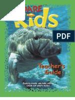 California; AWARE Kid's Teacher's Guide