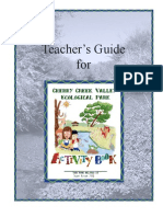 Colorado; Teacher's Guide for Cherry Creek Valley Ecological Park Activity Book - Arapahoe County