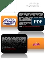Software Telefonía y televisión vía ip