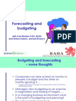 Forecasting and Budgeting With Carl Weldon Ceo Baha1829