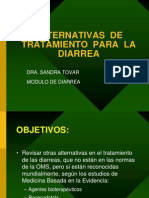 Otras Alternativas de TX del tratamiento de la Diarrea