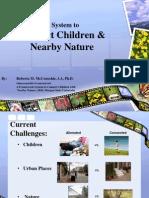 New York; Connecting Children with Nature - Rain Gardens and Community Gardens