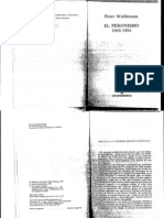 Waldmann, Peter. - El Peronismo 1943-1955.