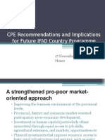 CPE and Future Implications 2011
