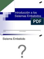 7. Introduccion a Los Sistemas Embebidos