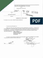 11 Civ 8500 Keenan Complaint