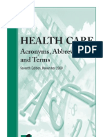 2008 Health Care Acronyms