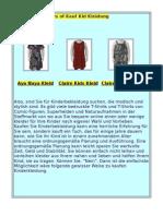 Kinderbekleidung-kleider