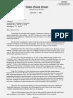 Hillary Clinton Uptick Rule Letter SEC