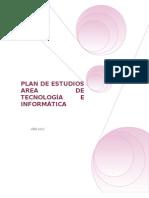 Plan de Estudios Tecnologia e a Xz2011