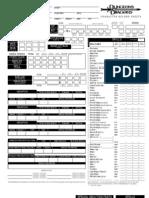 TSR CharacterSheet