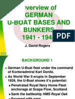 German U-Boat Bunkers & Bases