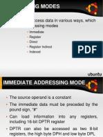Addressing Mode Lecture Slide