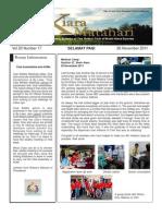 RCBKS Bulletin Vol 20 No 17